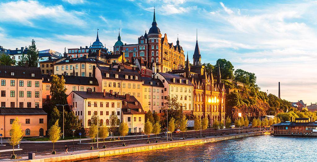 U bent op de ideale locatie om Stockholm te ontdekken