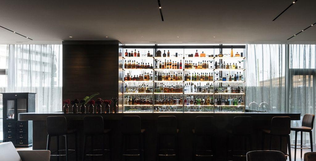 Stop bij de Lounge Bar voor een verfrissend drankje