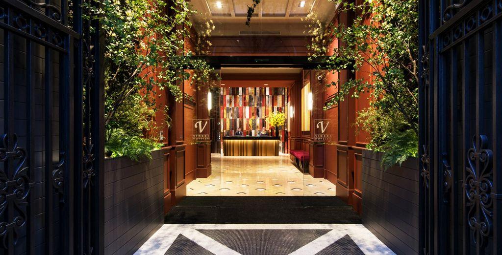 Welkom in het recent geopende hotel Vincci Mae 4*