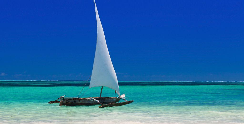 In het noordoosten van Zanzibar