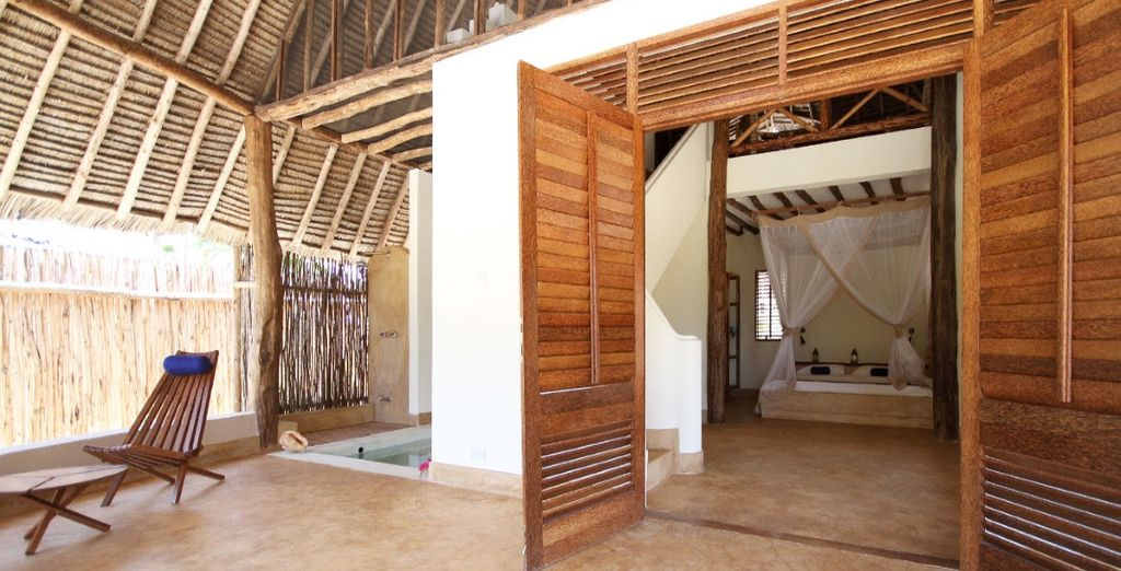 In traditionele Zanzibar stijl