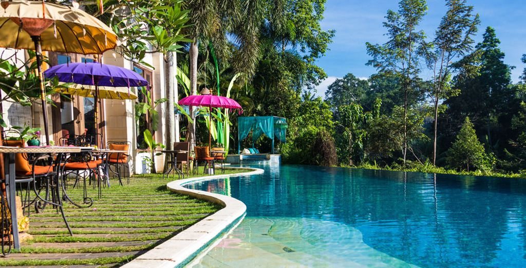 Of in het magische The Mansion Baliwood Resort Hotel & Spa