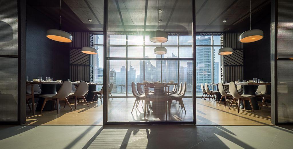 Dit designhotel is ideaal gelegen in Dubai
