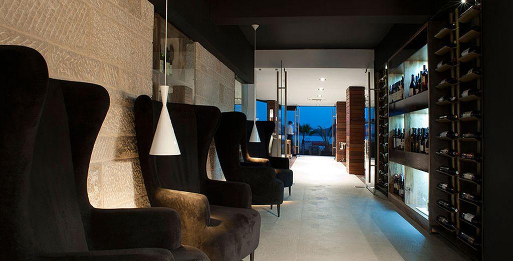 Een elegant hotel