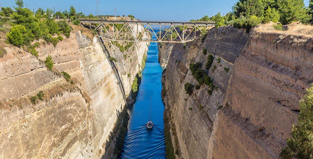 En het Kanaal van Korinthe