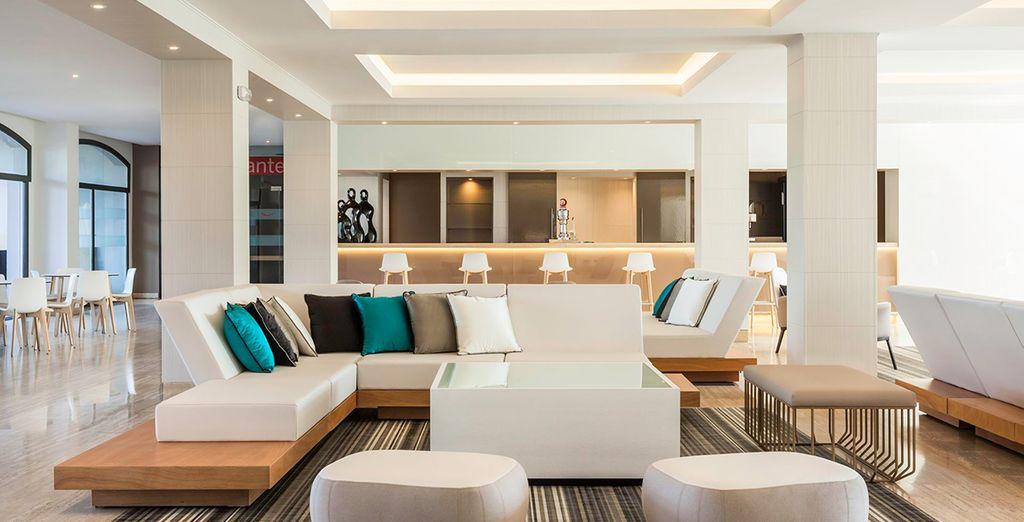 Ontspan in het moderne interieur