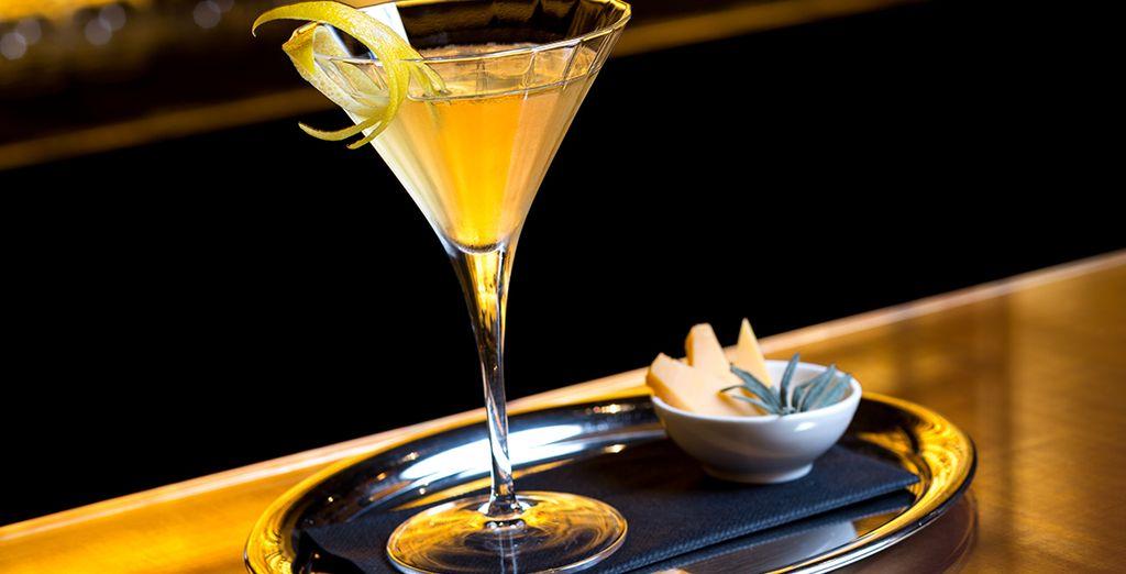 Geniet van uw favoriete cocktail