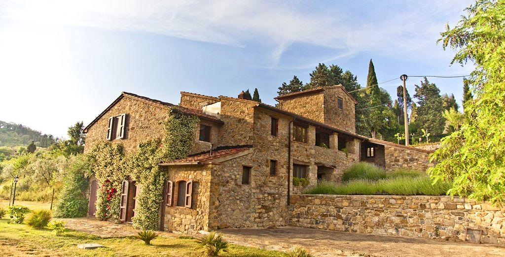 Een romantisch voormalig 6-eeuws kasteel