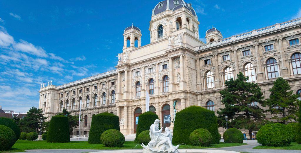 Ontdek vervolgens Wenen en haar prachtige tuinen en gebouwen