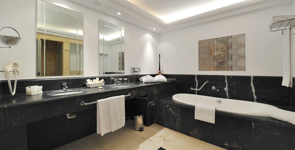 En een moderne badkamer