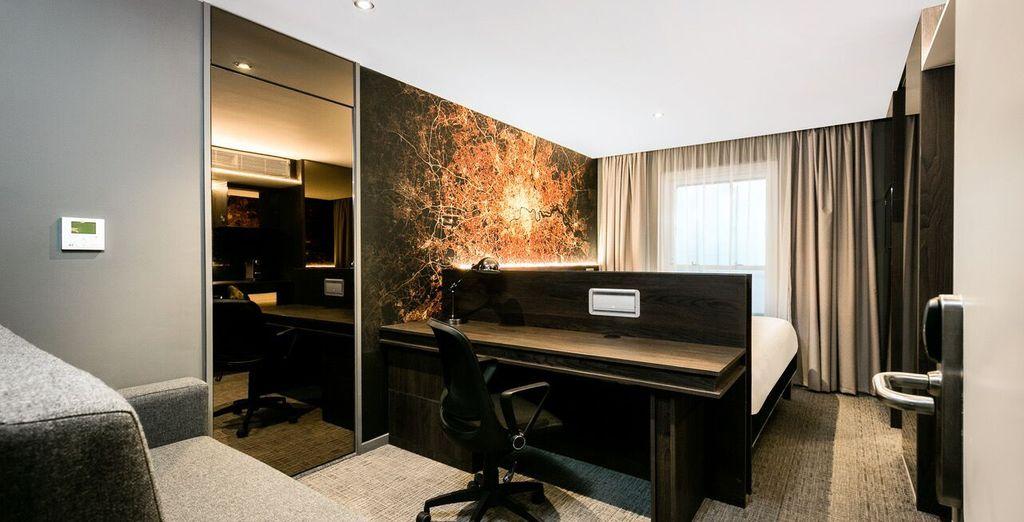 Dit hotel is chic, hip en ideaal gelegen ... alles dus wat u nodig heeft voor een citytrip!