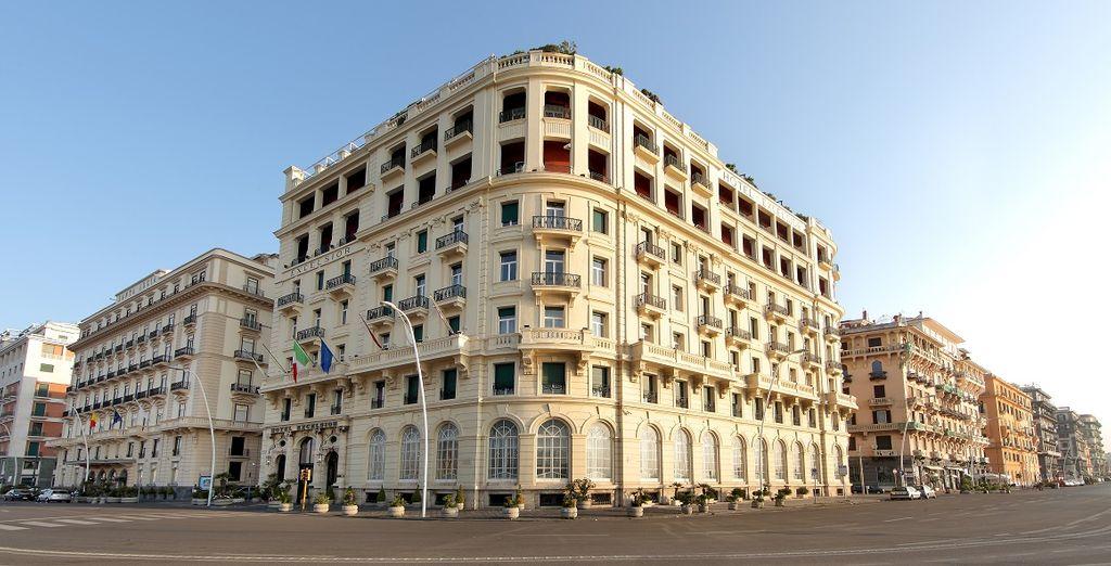 Welkom in het Eurostars Hotel Excelsior