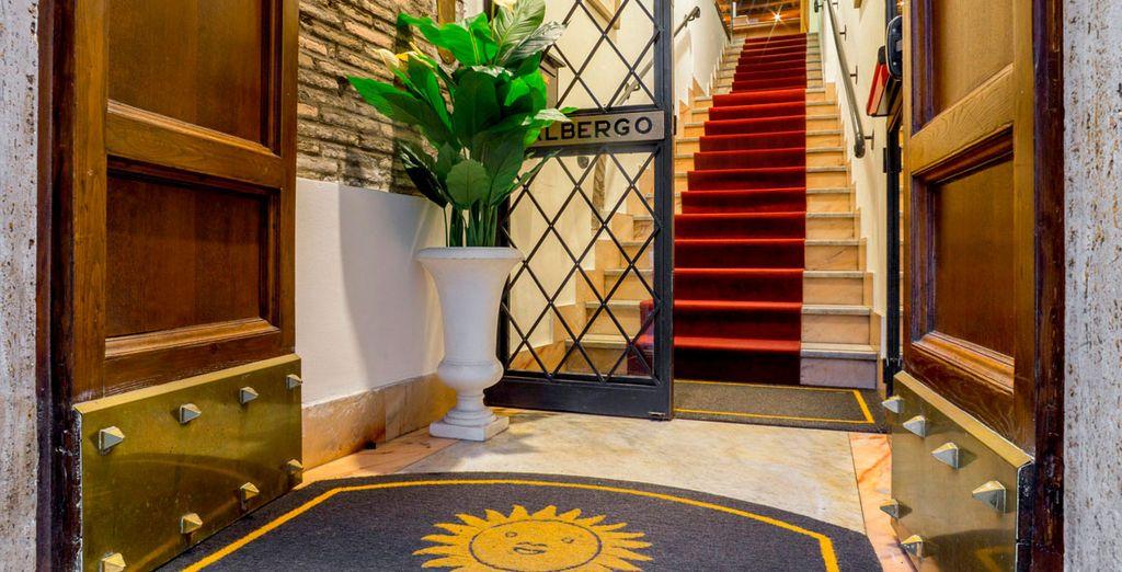 Verblijf in een charmant historisch hotel in boetiekstijl