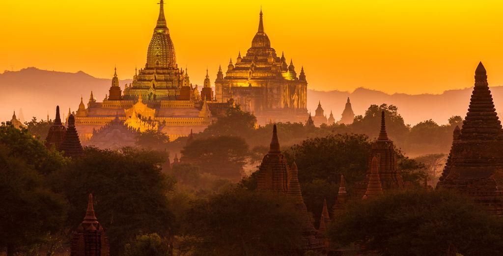 En de vele tempels, zoals Ananda