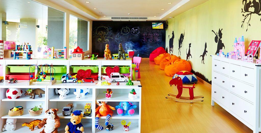 Met speciale faciliteiten voor kinderen