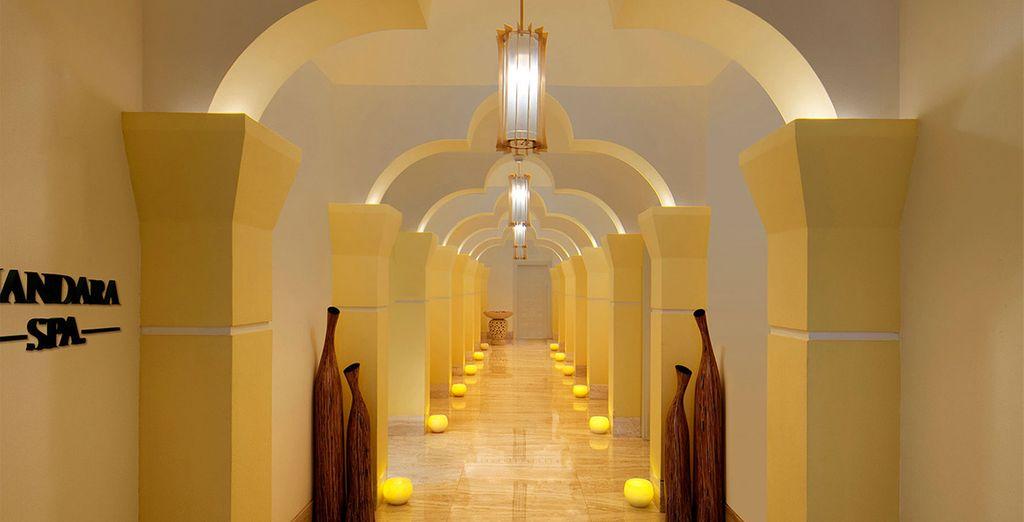 Ga naar de Mandara Spa, waar u 25% korting op behandelingen krijgt
