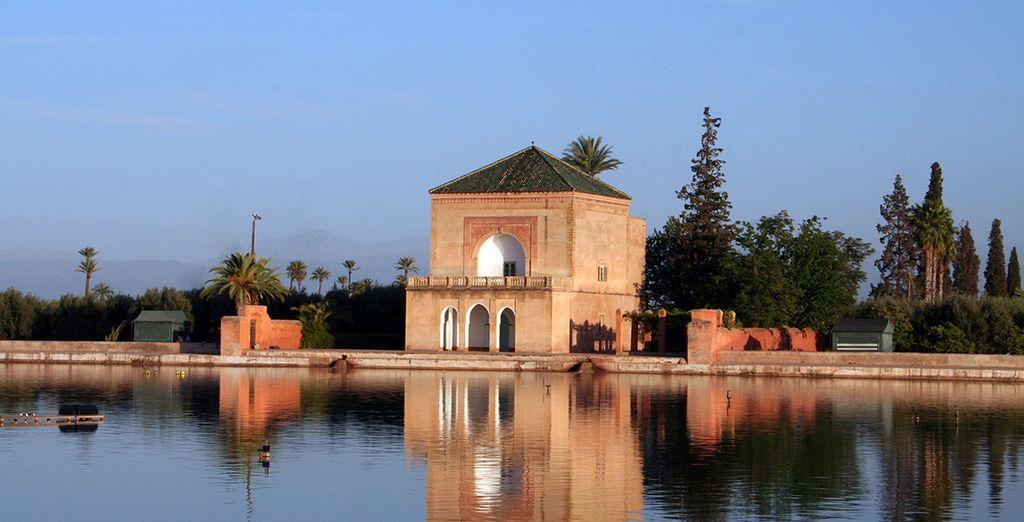 Een wandeling in de tuinen van Marrakech