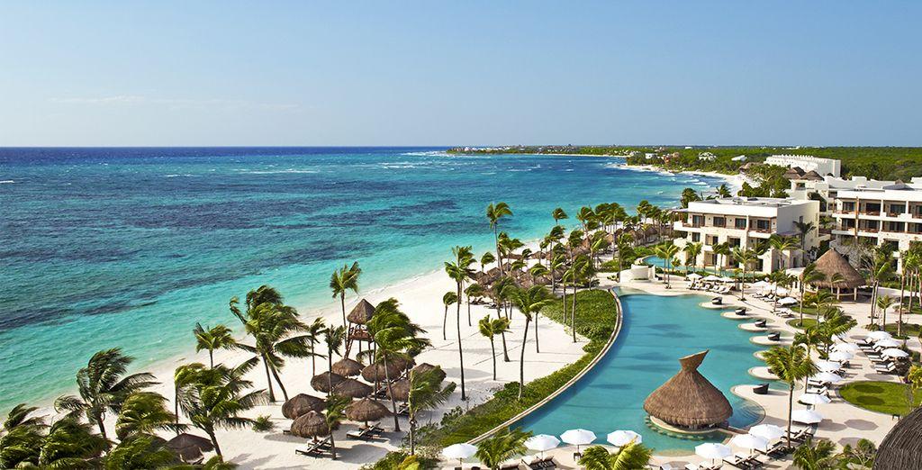 Welkom in het Hotel Secrets Akumal Riviera Maya 5*