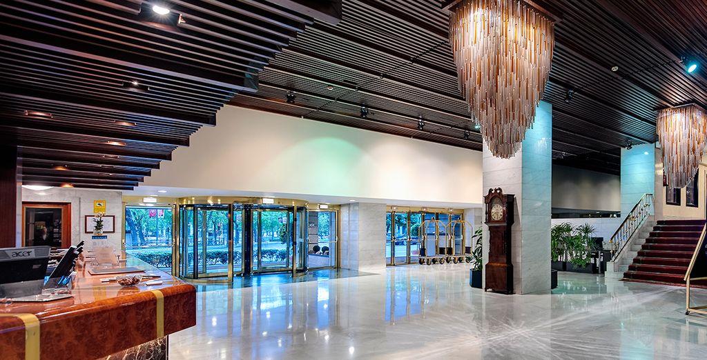 Kom naar het Miguel Ángel by BlueBay 5* hotel
