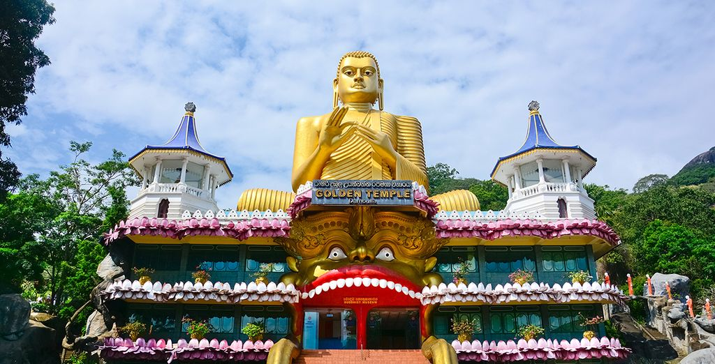 De Gouden Tempel van Dambulla