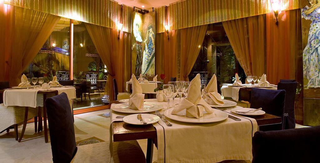 Waar u kunt genieten van heerlijke en exotische gerechten ...