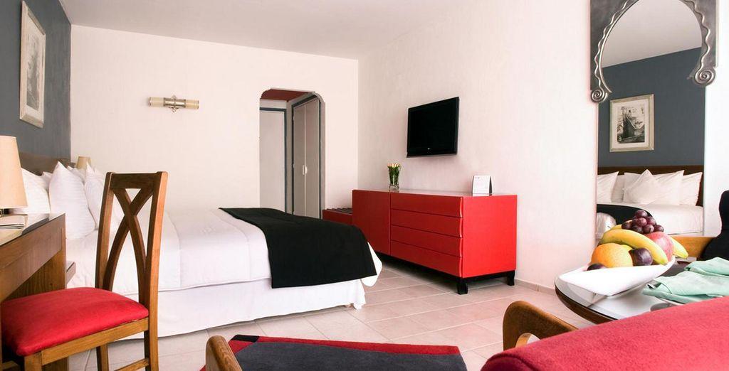 Een heerlijk verblijf in een Deluxe kamer