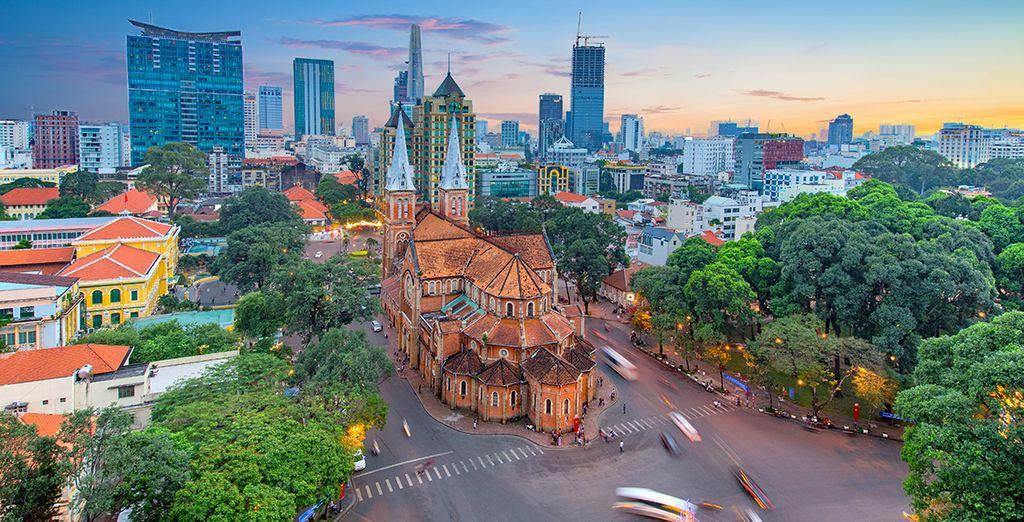 En eindig in Ho Chi Minh
