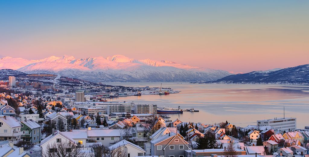 Vanuit Tromsø, op 200 km van de Noordpool