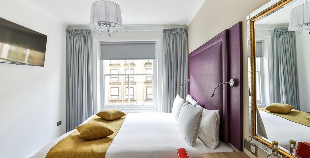 Ontdek Londen in een onlangs gerenoveerd hotel