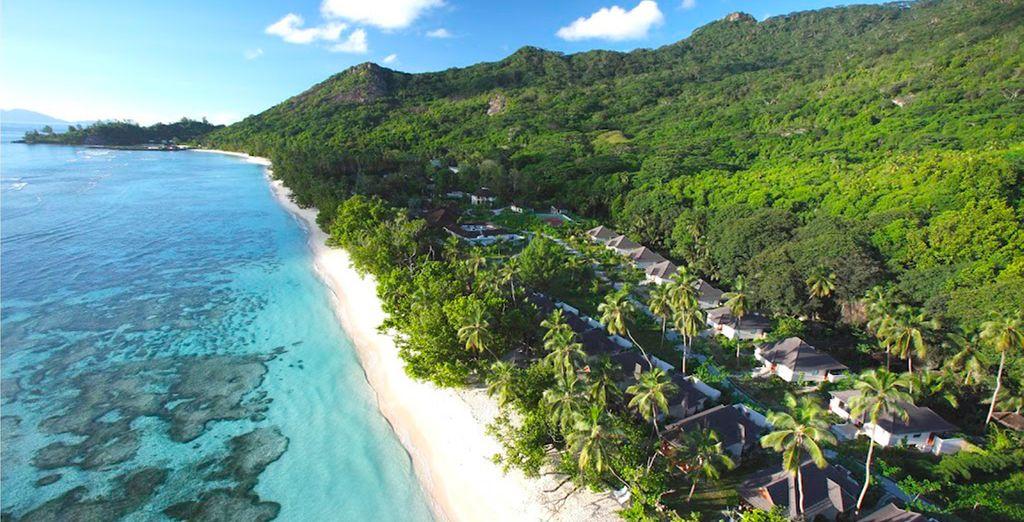 In het Hilton Seychelles Labriz Resort & Spa