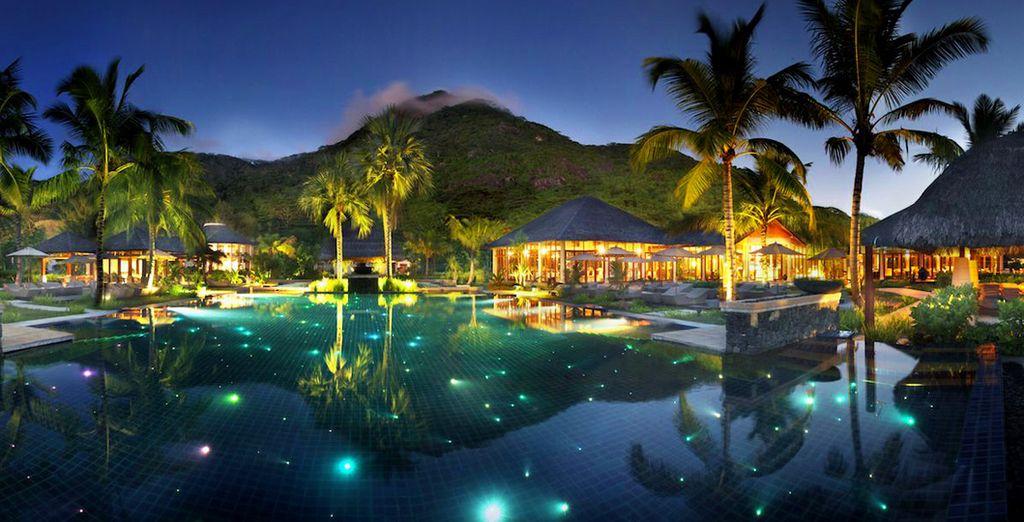 Een sterrenhemel, kokospalmen en een turquoise zee... Welkom in het paradijs!