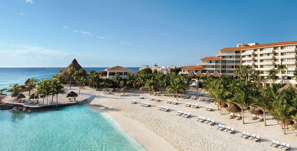 Kies voor een droomvakantie in het Dreams Puerto Aventuras Resort & Spa 4*