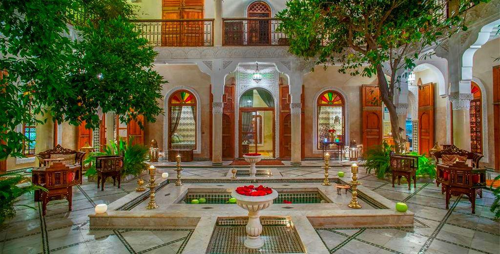 Welkom in Riad & Spa Laurence Olivier
