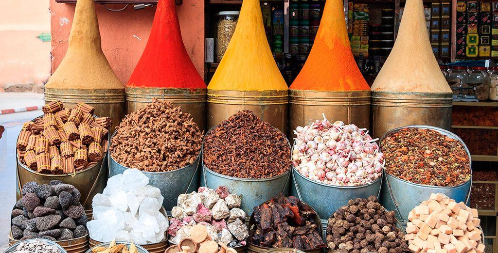 Slenter over de kleurrijke markten