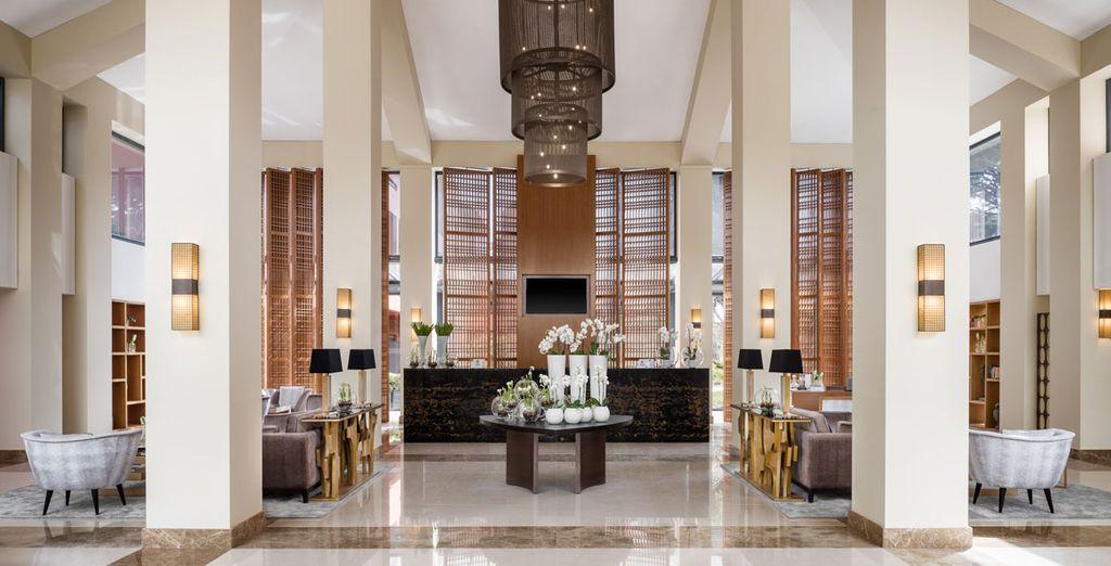 Welkom in uw luxe hotel