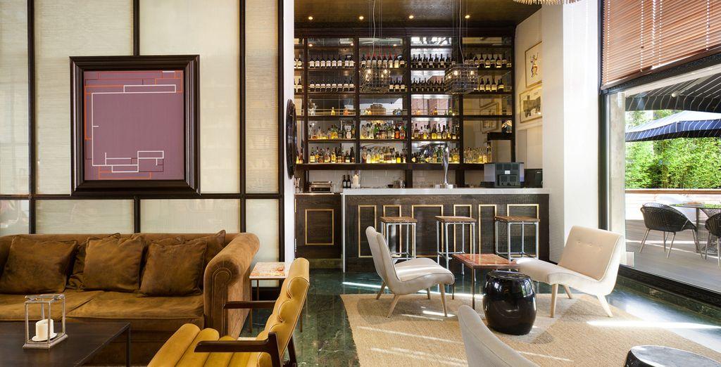 Of ga voor een cocktail bij de Lobby Bar