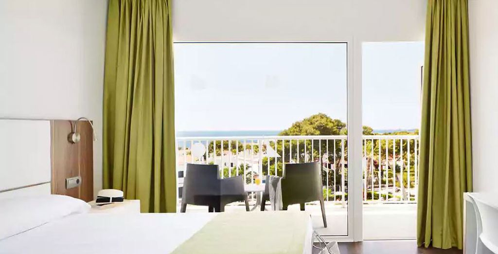 Voel de heerlijke zeebries op uw balkon...
