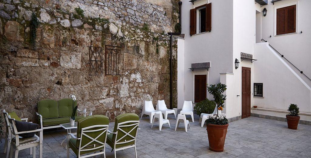 In het hartje van Palermo