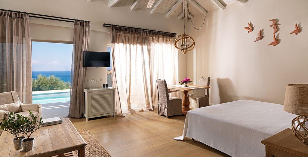 Of in een prachtige Camvillia Suite...