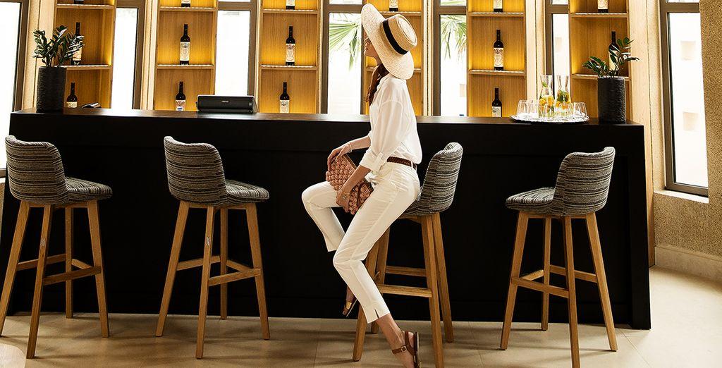 Relax in de bar met uw favoriete drankje