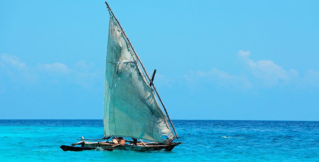 Of wat dacht u van een tocht met een zeilboot?