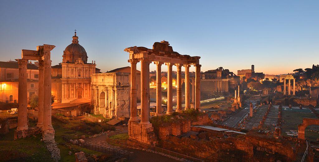 Bezoek de mooiste monumenten van de Italiaanse hoofdstad