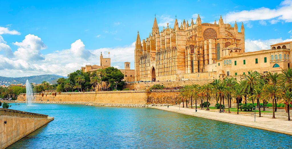 De stad Palma de Mallorca heeft veel te bieden