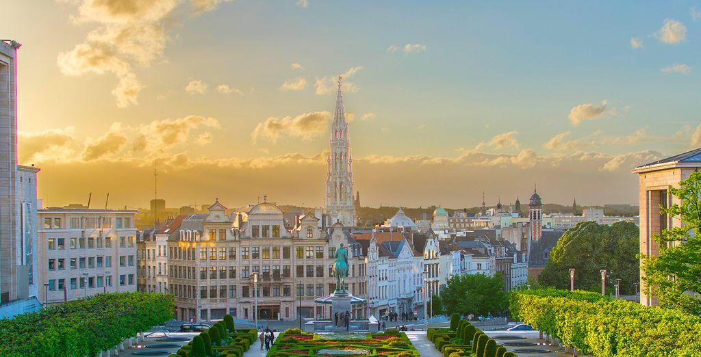 Laat u verrassen door Brussel...
