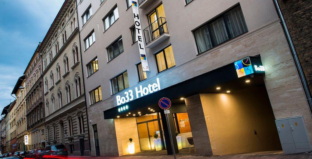 Welkom in het 4* hotel Bo33