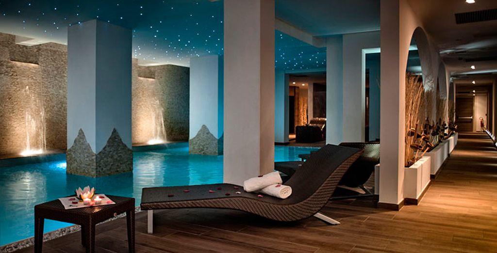 Beleef een uitzonderlijke ervaring in de Spa van het hotel