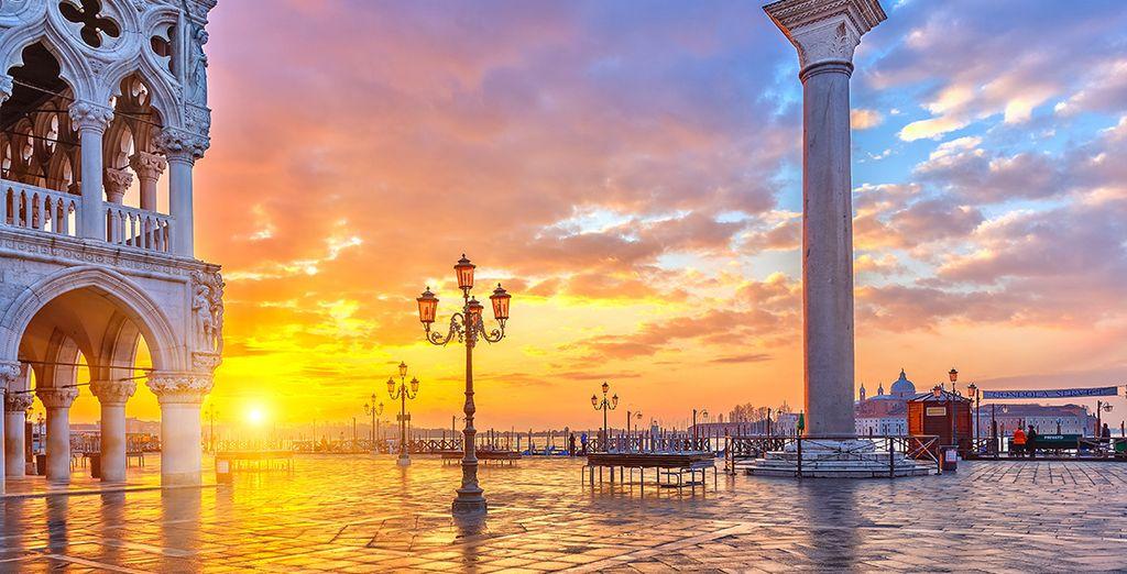 Ontdek het romantische Venetië