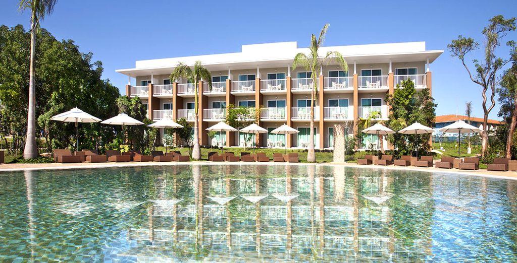 Een gloednieuw hotel op een bevoorrechte locatie