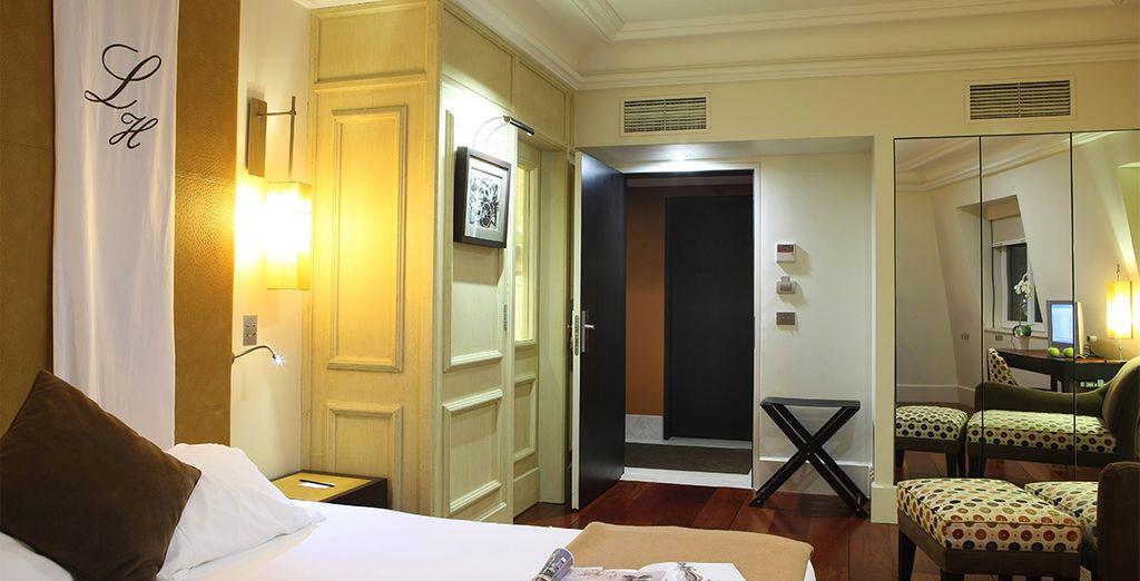 U verblijft in een comfortabele Lisboa Kamer