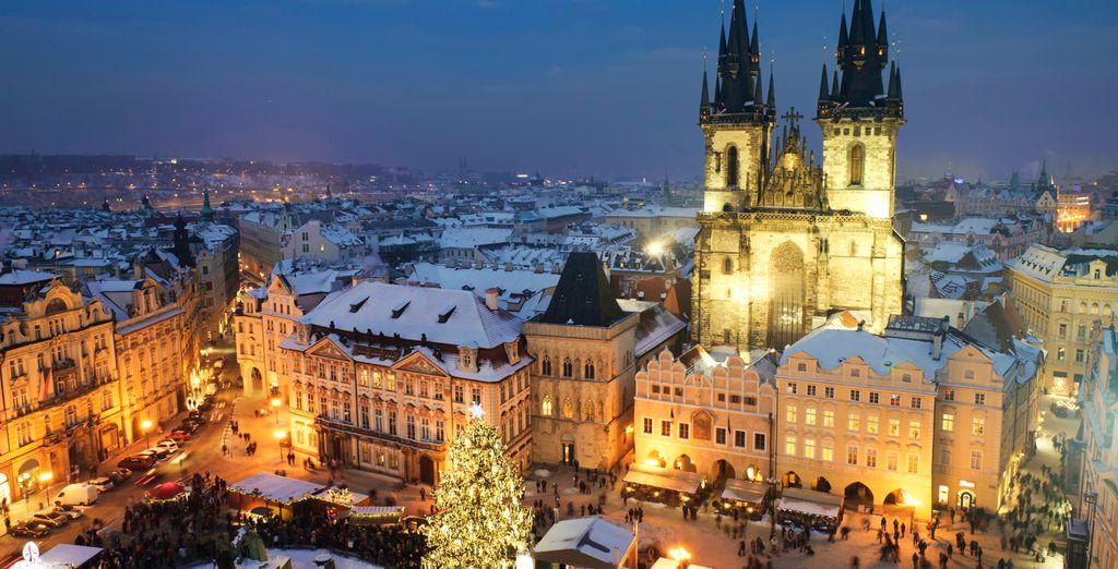Van het winterse Praag